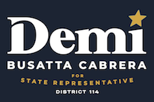 Demi Busatta Cabrera, Republican, for State Representative, District 114 Logo